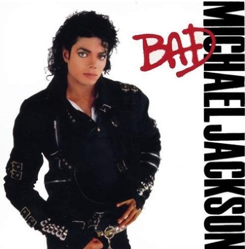 michael jackson � bad album cover nick simmons