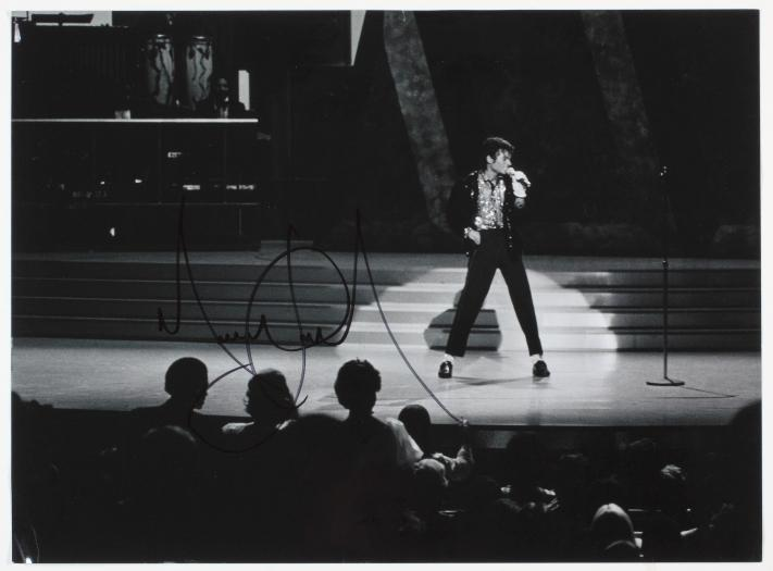 MJ signed billie jean