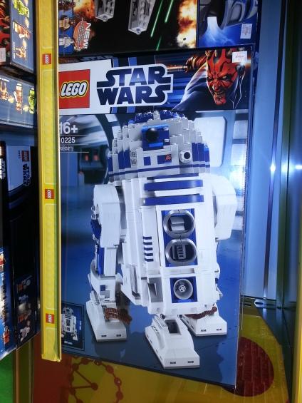 R2-D2  - Hamleys Cardiff Store