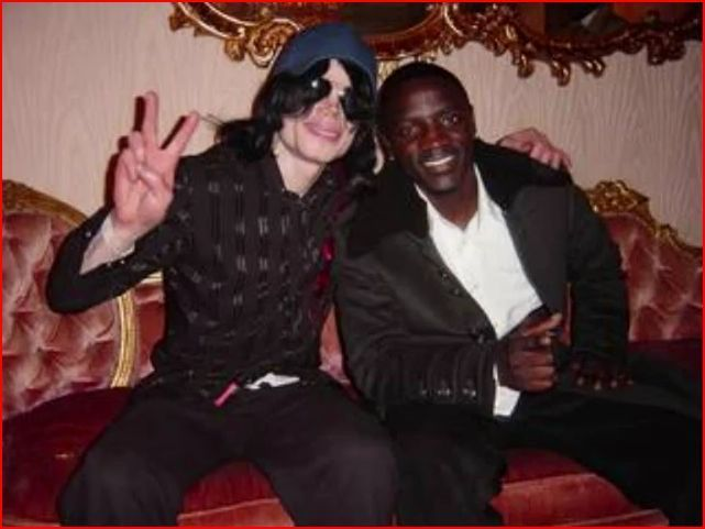 MJ and Akon (Las Vegas, 2007)