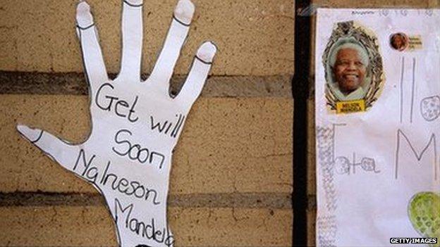 Nelson Mandela Tributes and Prayers