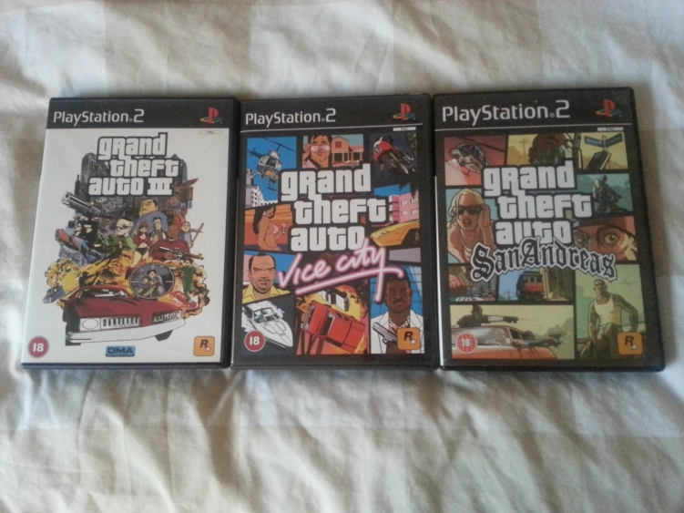 GTA Trilogy Collection (2001-2004)
