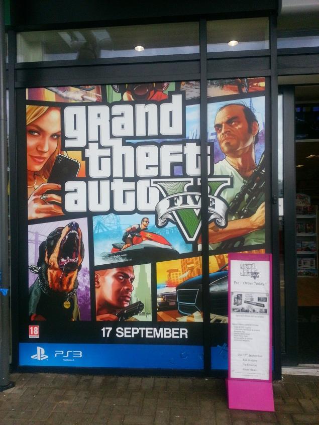 GTA V Game Promotion