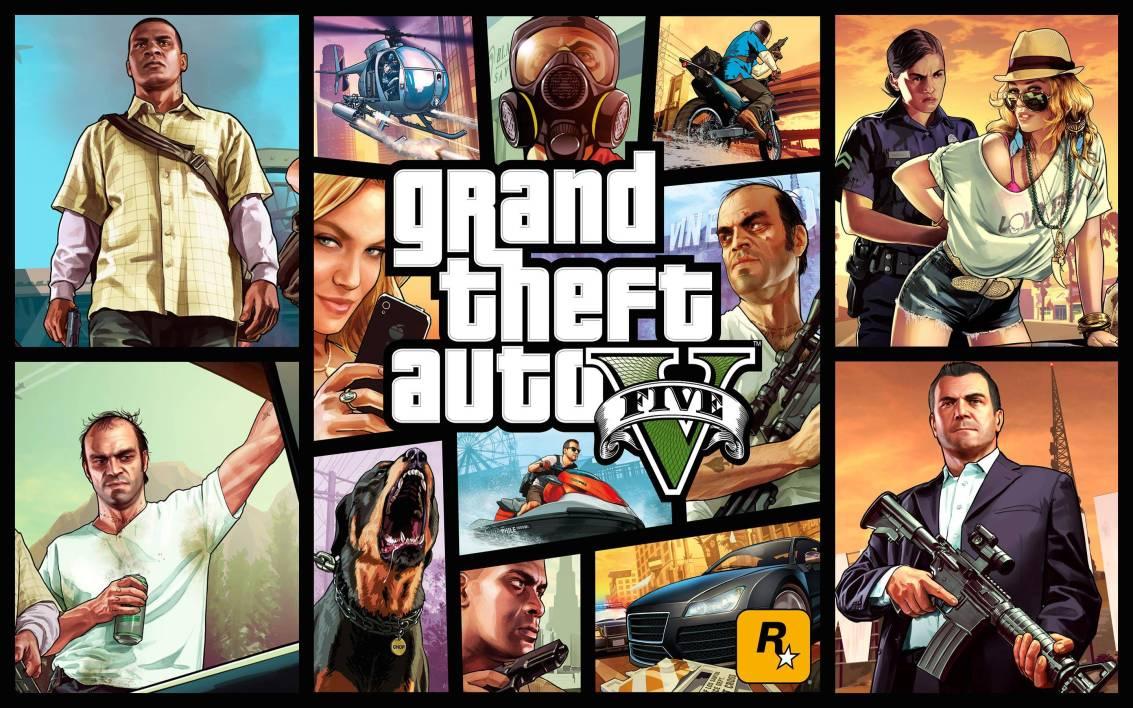 GTA V Cover Art
