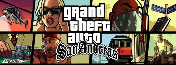 San Andreas Cover Art