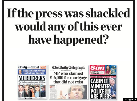 Leveson Inquiry - Newspaper Argument