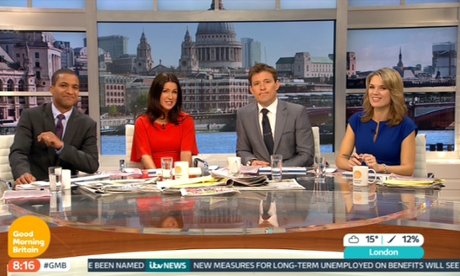 "ITV Launches 'Good Morning Britain' Returning To A ""Greater Focus On News"""
