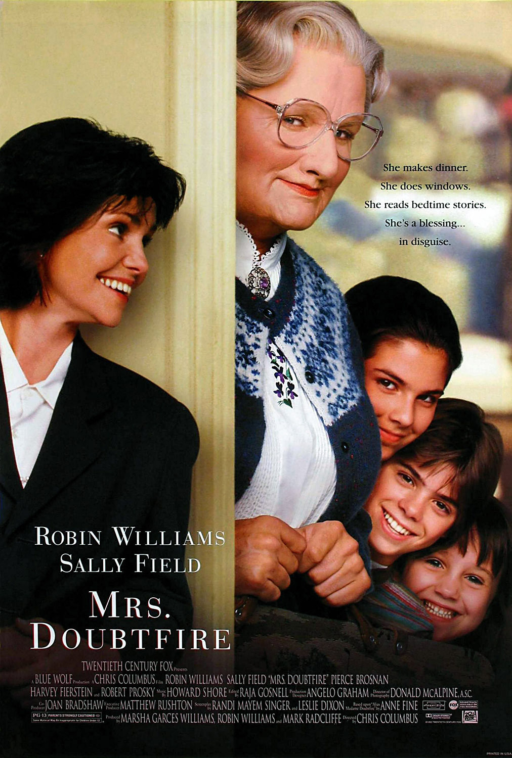 "Mrs. Doubtfire 2 Sequel Is ""In The Works"", Says Fox 2000 Studio"