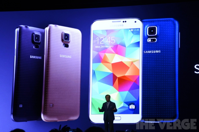 Samsung Galaxy S5 Announcment